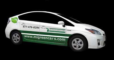 Michigan Green Cars Pix